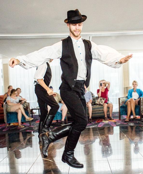 Hungarian dancer