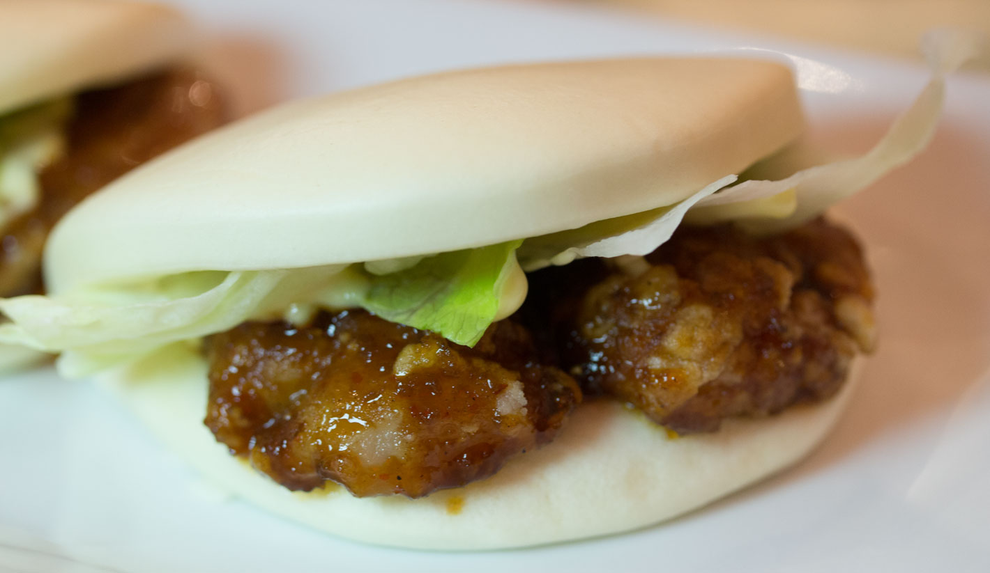 Ippudo chicken bun