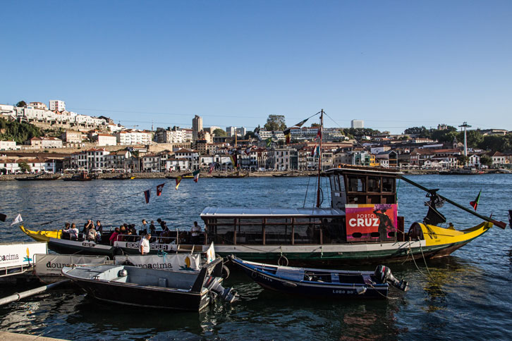 Portugal Porto boats river