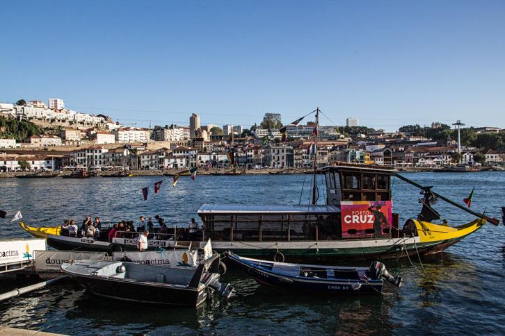 Portugal Porto boats river