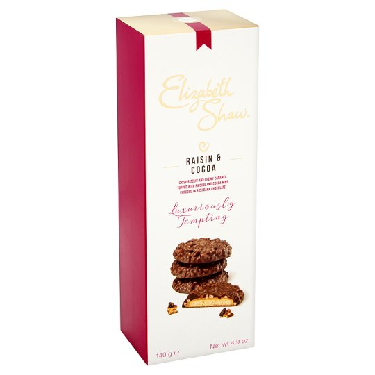 Raisin and Cocoa – Biscuits by Elizabeth Shaw – product review
