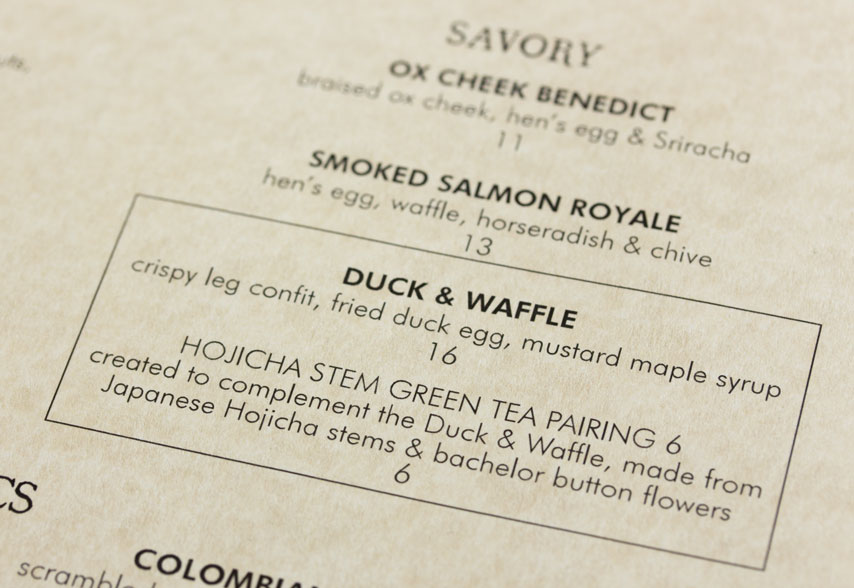 Duck and Waffle for Breakfast – review