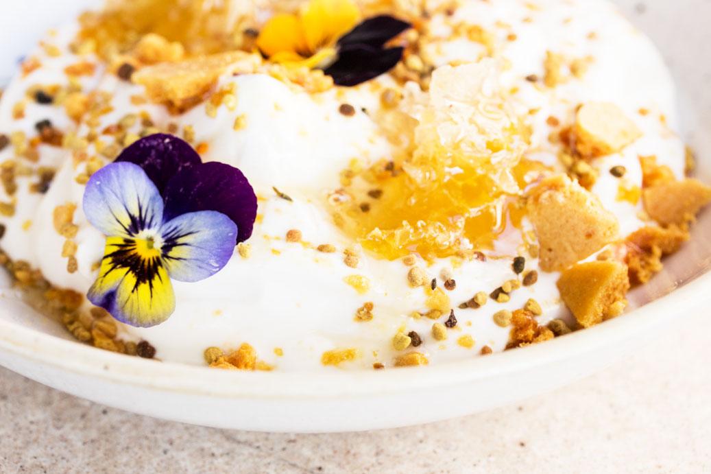 duck and waffle yoghurt