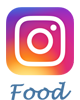 Instagram food logo