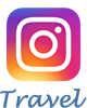 Instagram travel logo