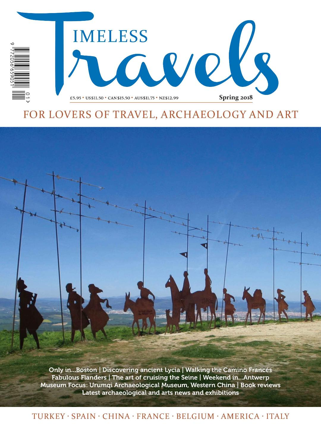 Spring issue of Timeless Travels is now published