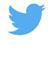 Twitter bird with padding