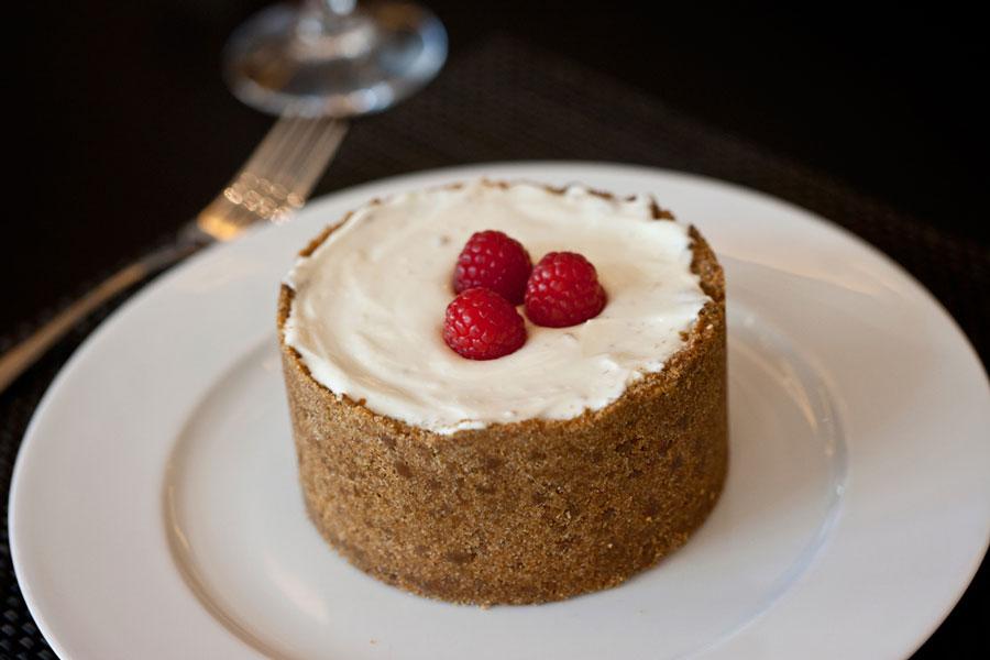 JW Steakhouse cheesecake