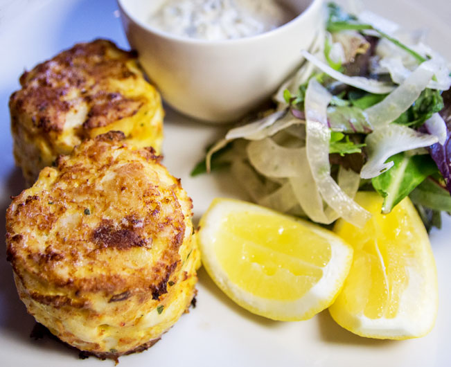 JW Steakhouse crab cakes