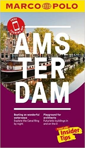 Amsterdam Marco Polo Pocket Travel Guide 2018