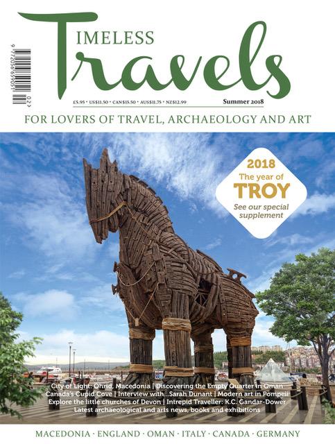 Timeless travel cover summer 2018