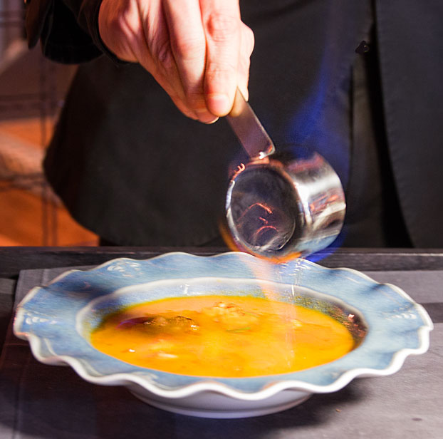 Cinnamon Kitchen Battersea soup