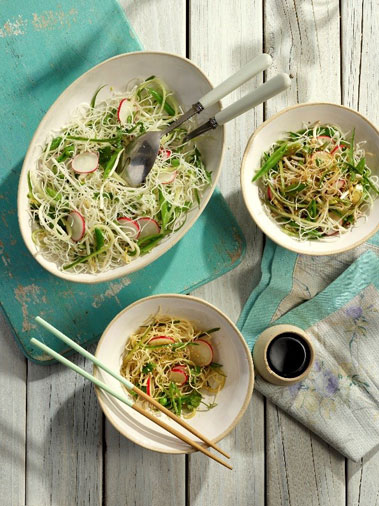 Lee Kum Kee and Smokin' Lotus Noodles and Pork