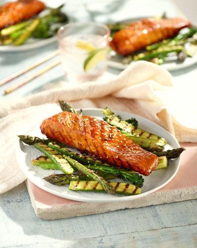 Smokin salmon