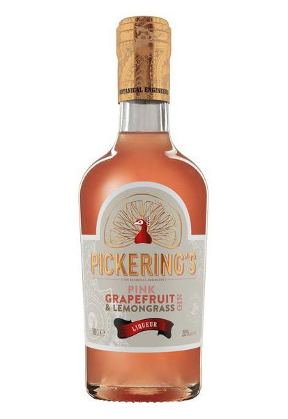 Pink Grapefruit Gin by Pickering