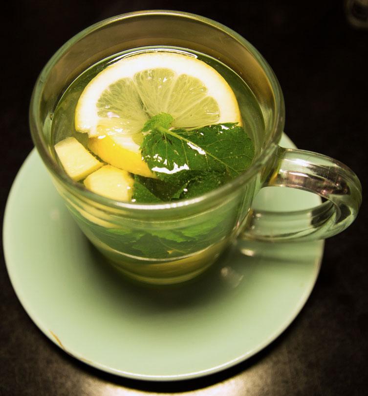 Cafe Loren tea