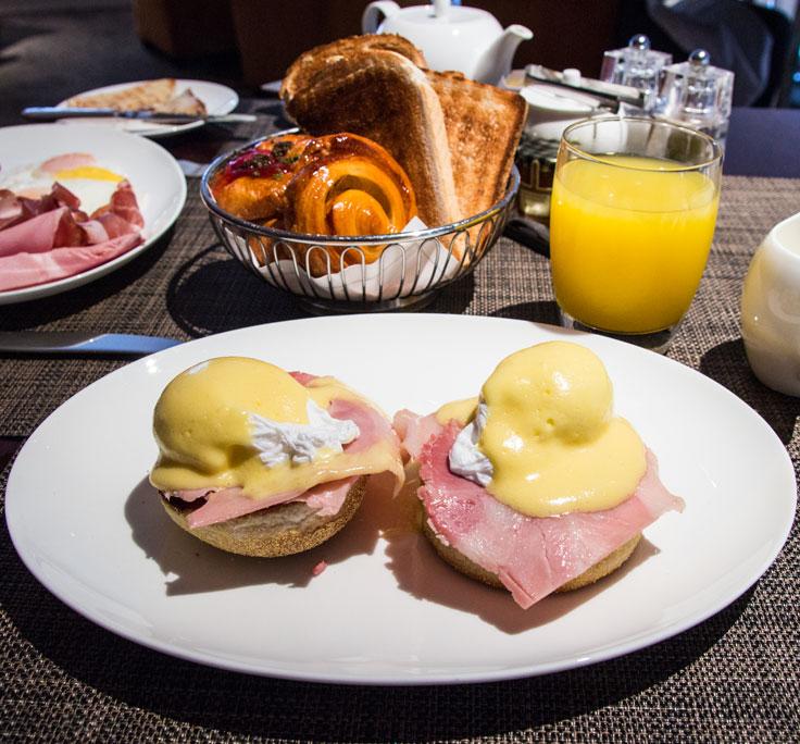 One Aldwych breakfast