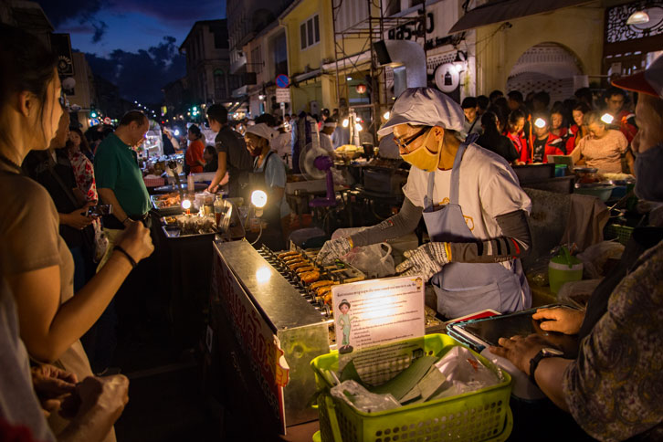 Outrigger street food