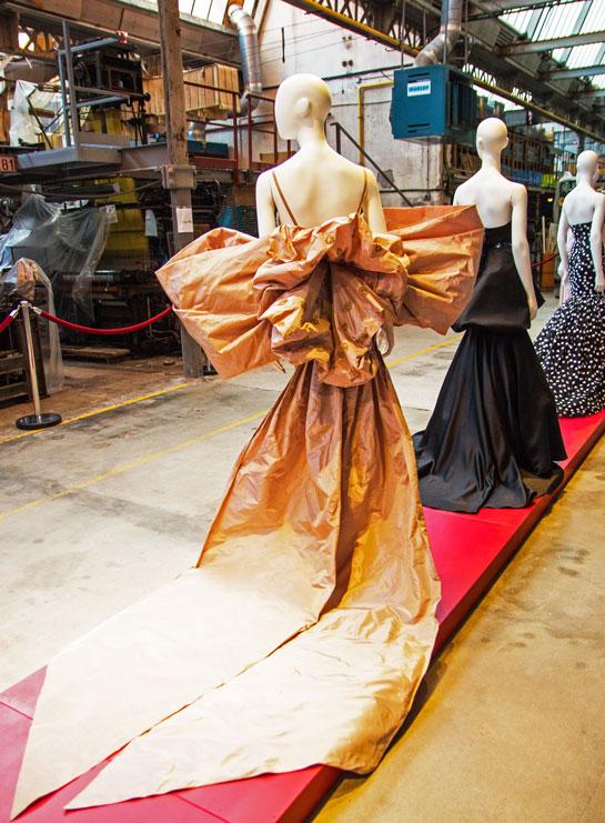 Silk museum fashion