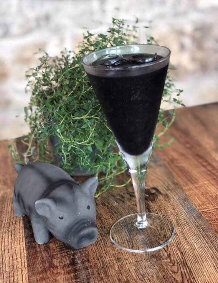 Black Pig Cocktail