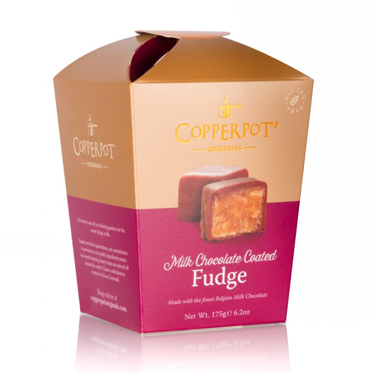 Copperpot Fudge for Christmas