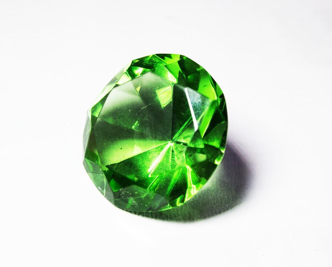 Gem green Jura