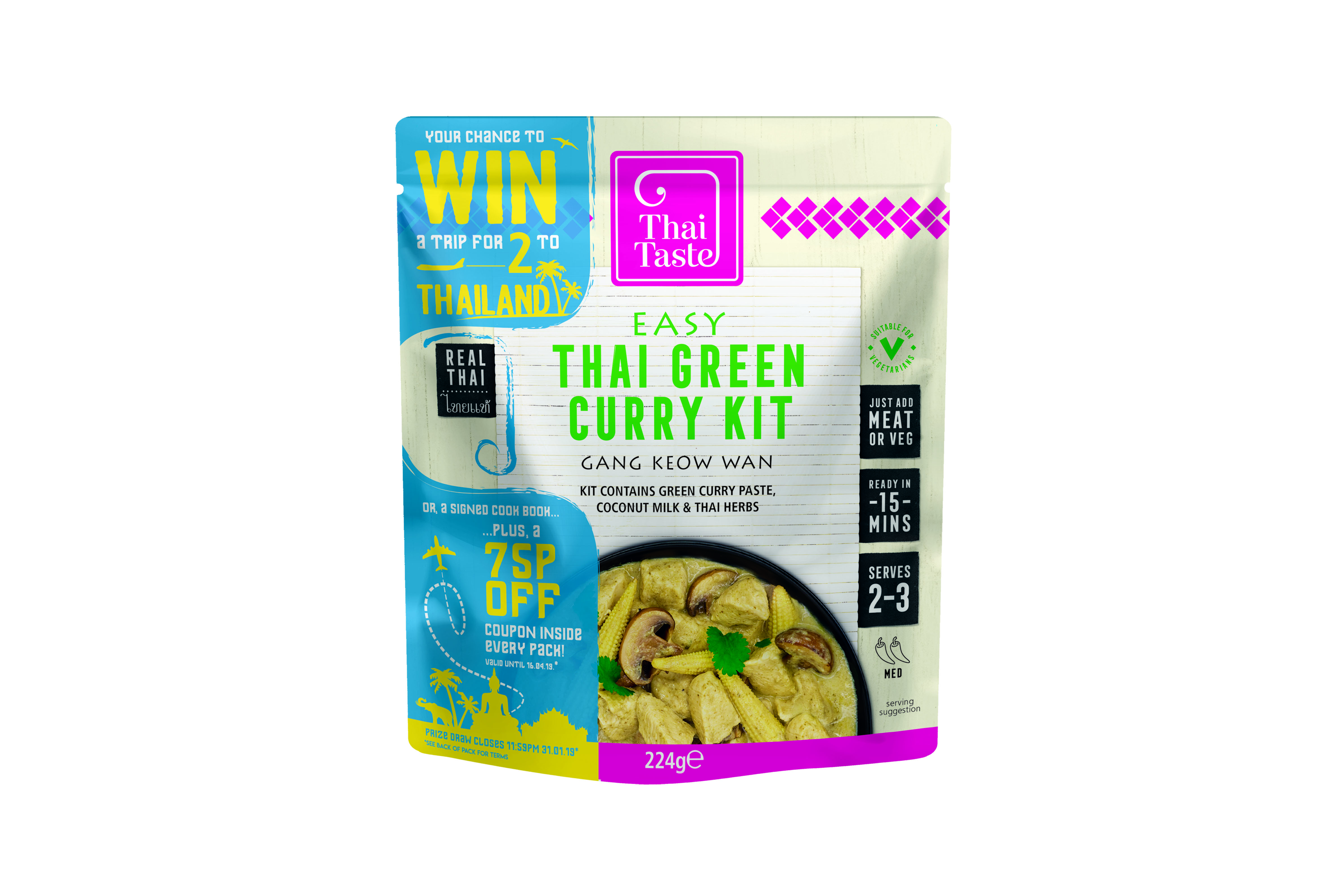 Thai Taste Green Curry and a competition