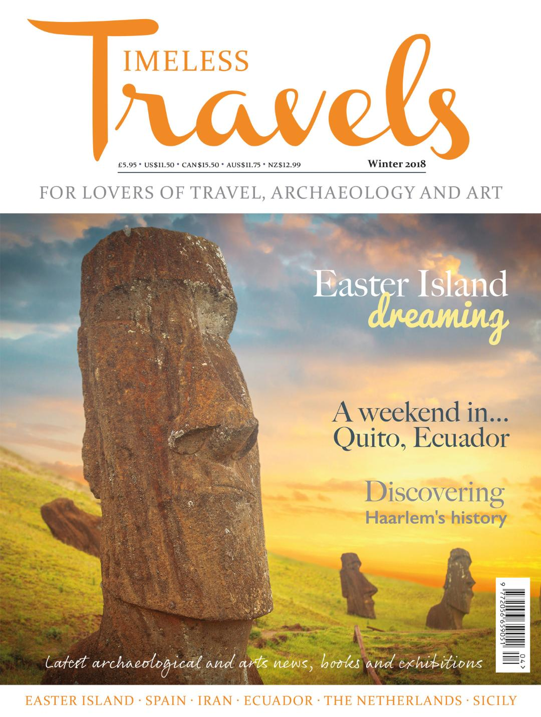 Winter Edition of Timeless Travels