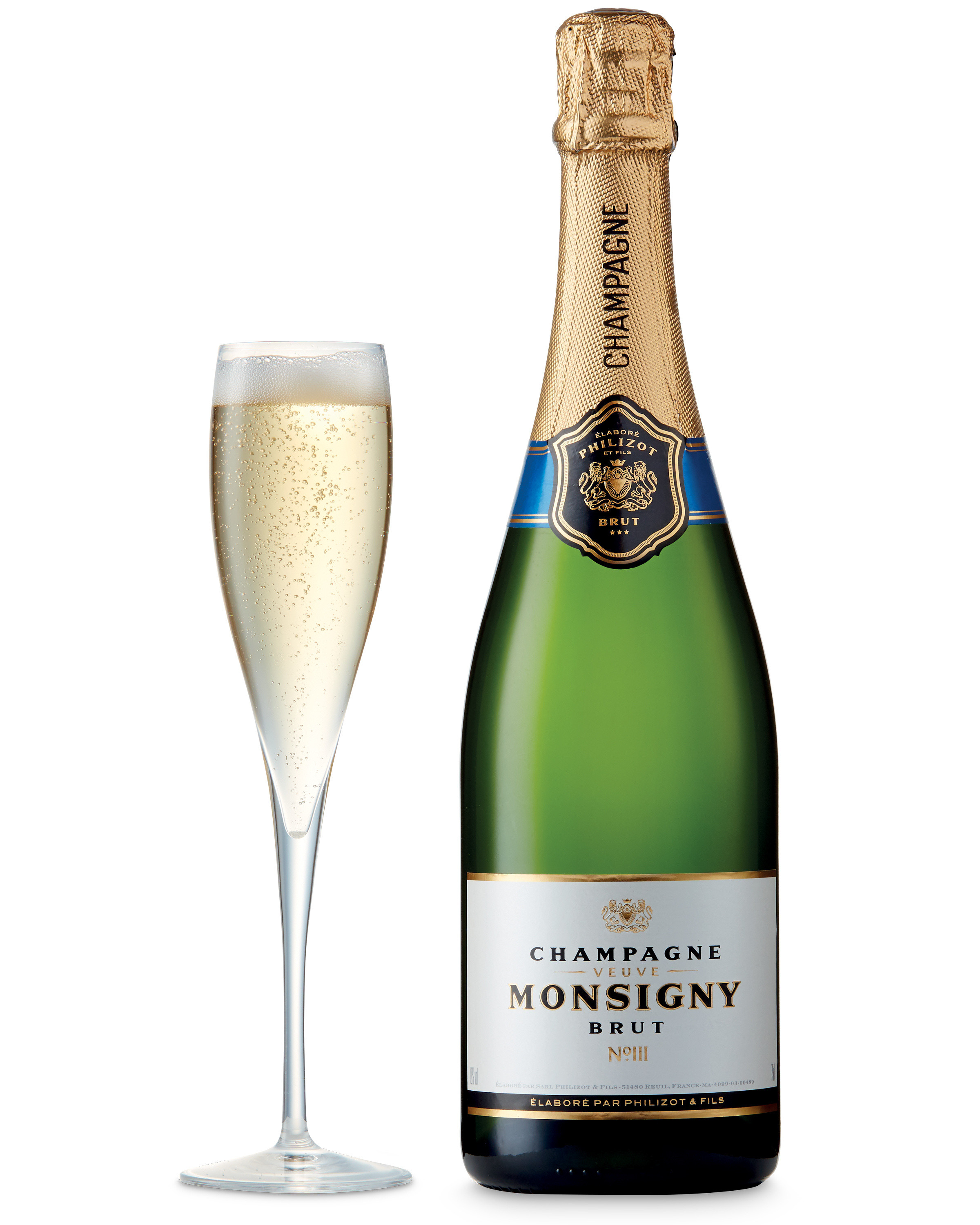 Monsigny Brut Champagne from Aldi