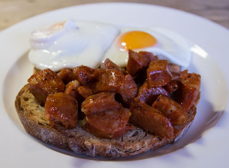 plough breakfast chorizo