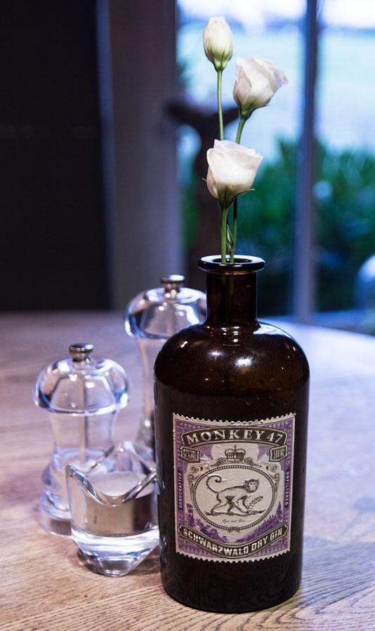 Plough gin bottle