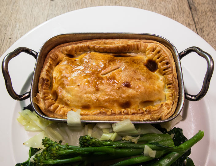 The Plough pie