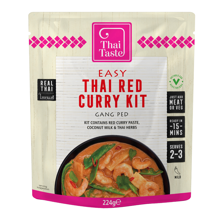 Thai Taste Red Curry in a Hurry