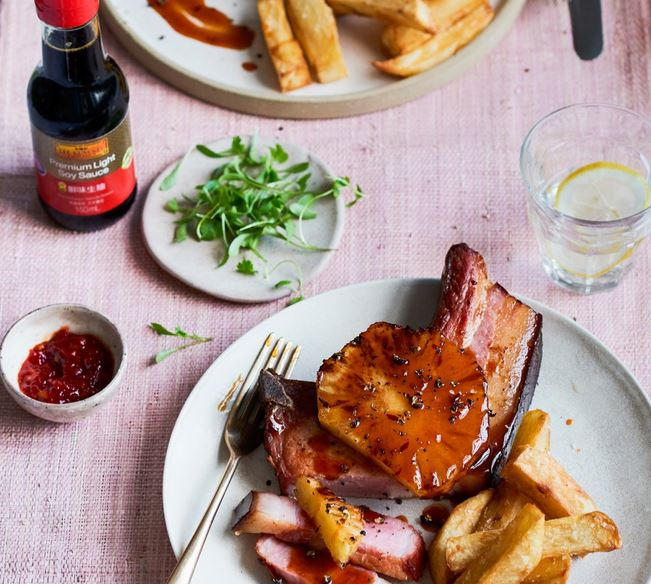 Lee Kum Kee Chinese Barbecue Gammon & Pineapple