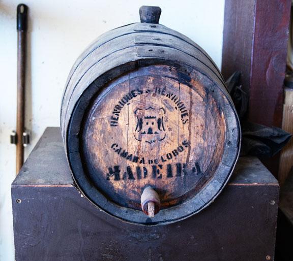 Madeira barrel