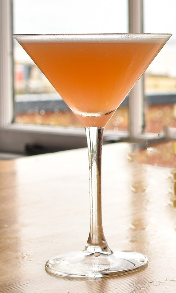 Pearson's Arms Pineapple and blood orange gin Martini