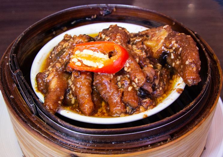 Orient chicken claw