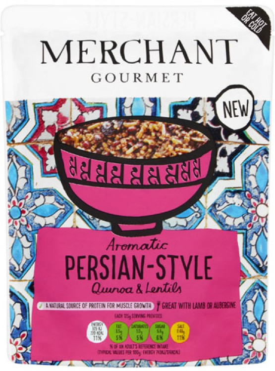 Merchant Gourmet Aromatic Persian-Style Quinoa and Lentils