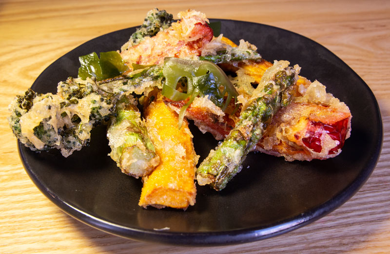 Wagamama tempura