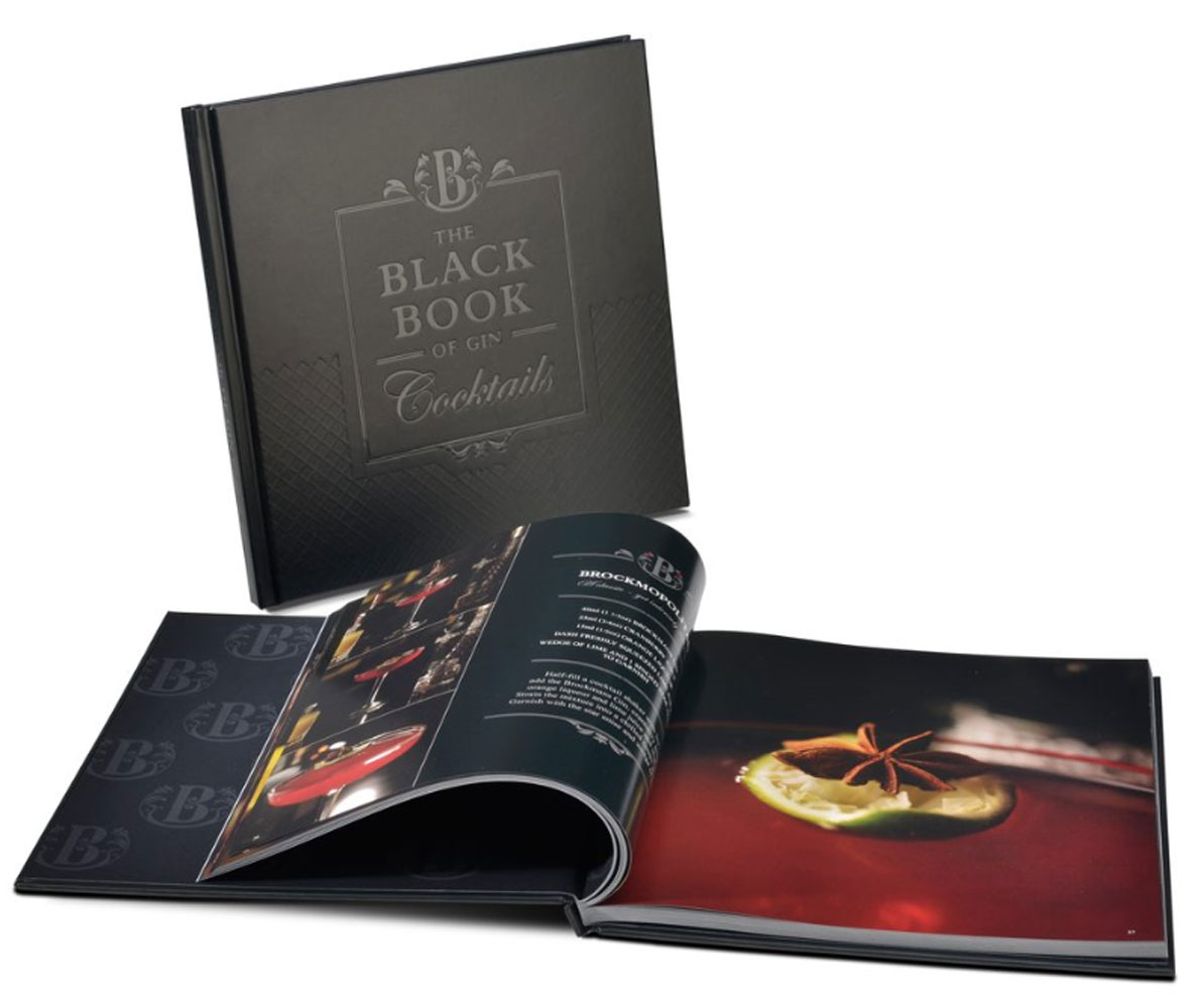 Brockmans gin book