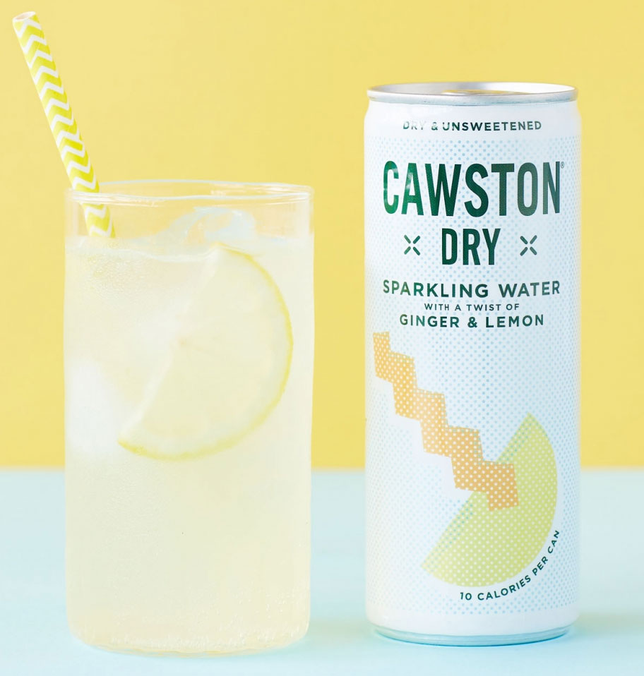 Cawston Dry Sparkling Water with a twist