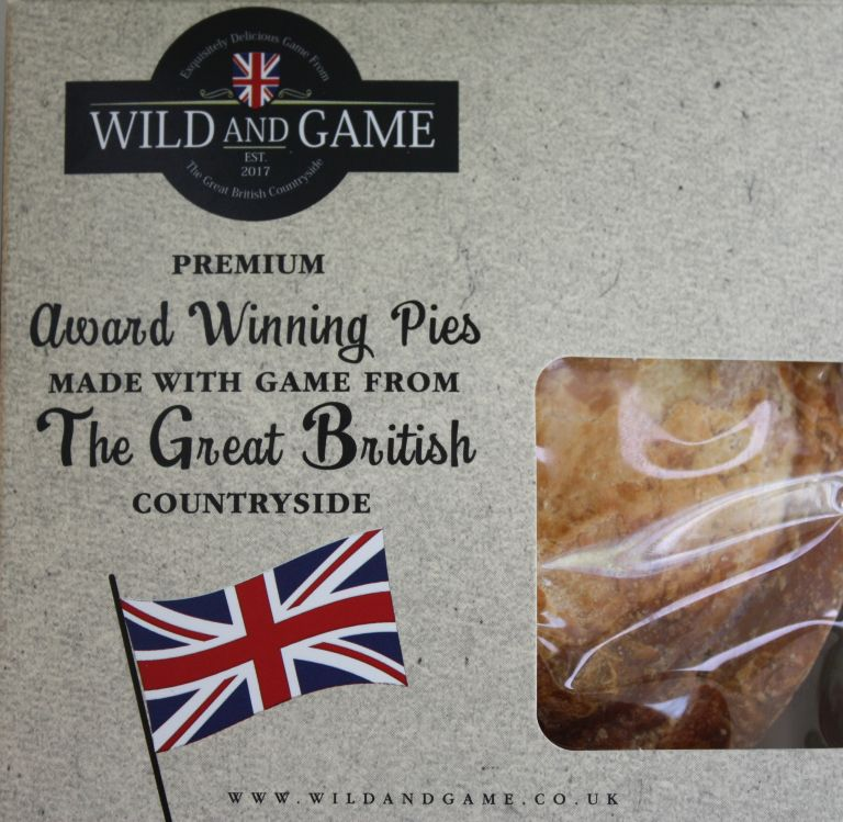 wild and game pies