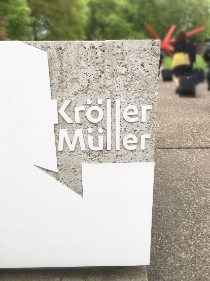 Kröller-Müller Museum reopens on 1 June 2020