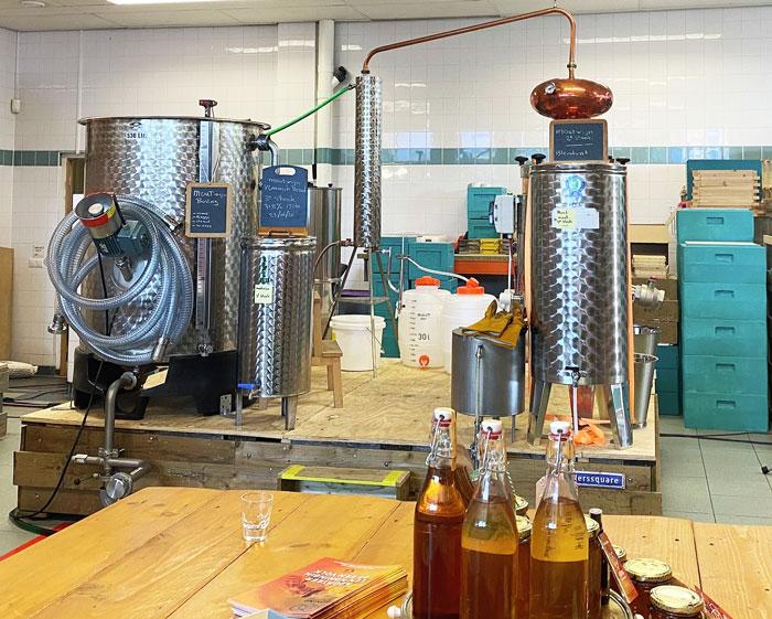 Schiedam distillery