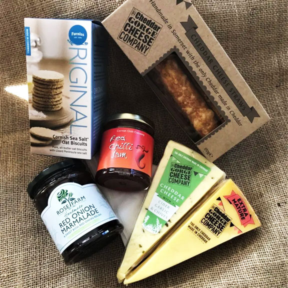 Picnic with the Cheddar Gorge Cheese Company