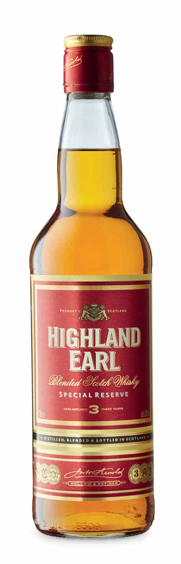 Highland Earl Whisky from ALDI