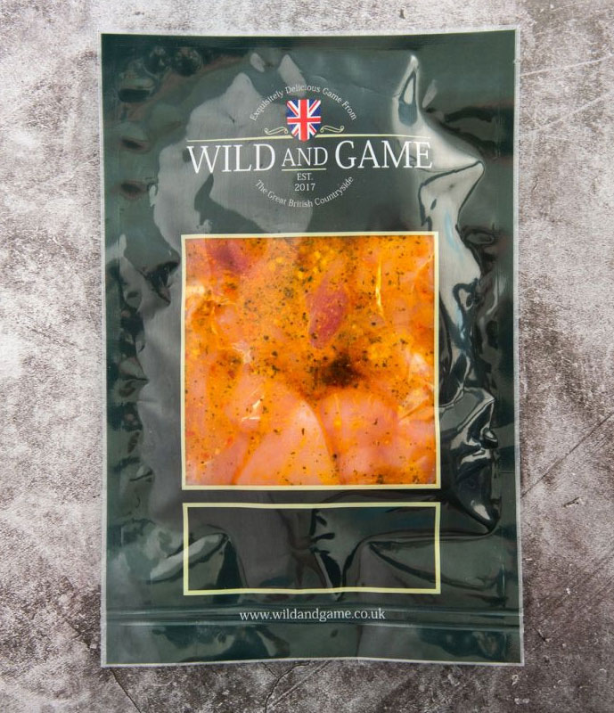 Wild and Game in Marinade