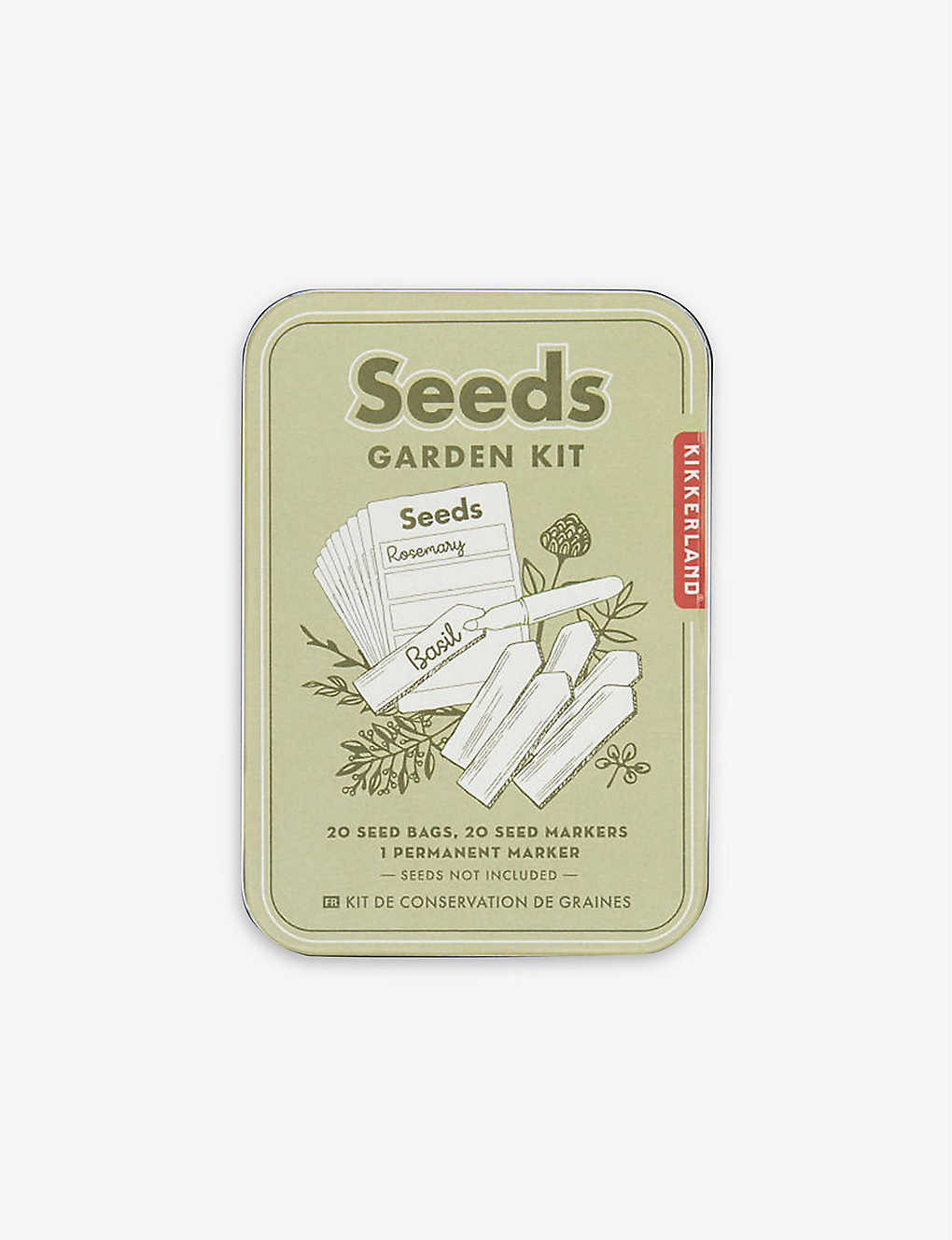 Seeds Garden Kit from Kikkerland