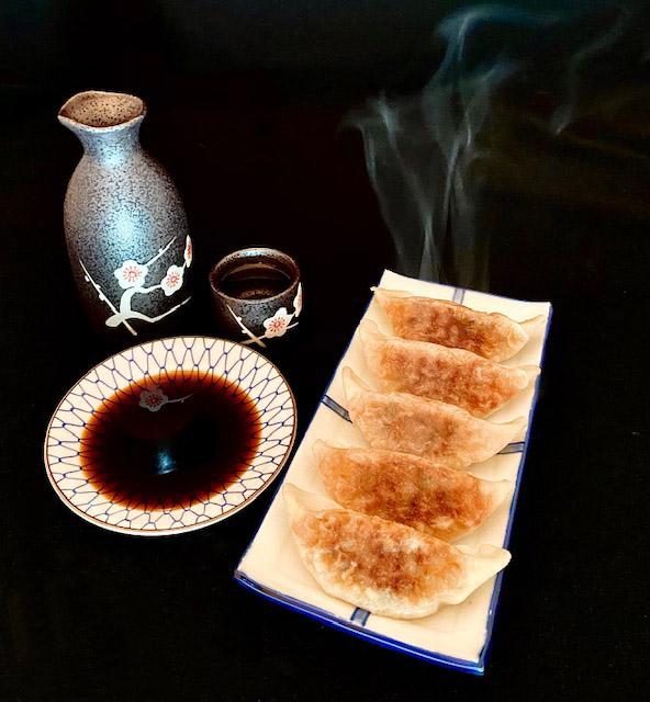 itsu gyoza cooked