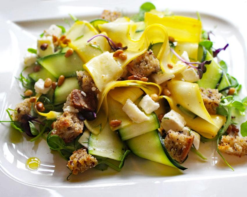 Burpee Ribbon Salad